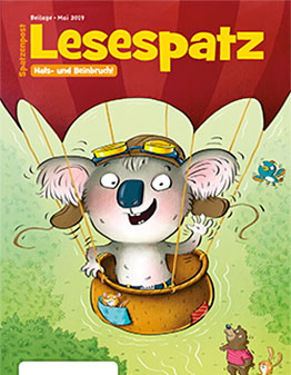 Lesebeilage Lesespatz Cover